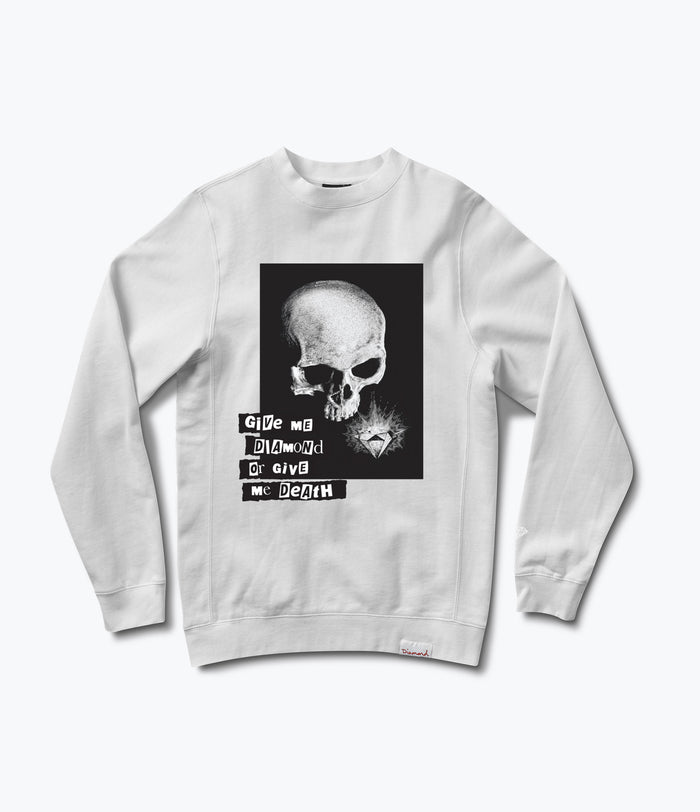 Give Me Diamond Crewneck Sweatshirt, Fall 2017 -  Diamond Supply Co.