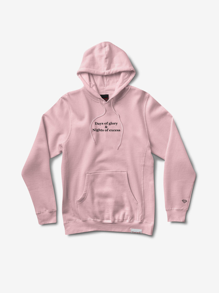 Nights of Excess Hoodie - Pink,  -  Diamond Supply Co.