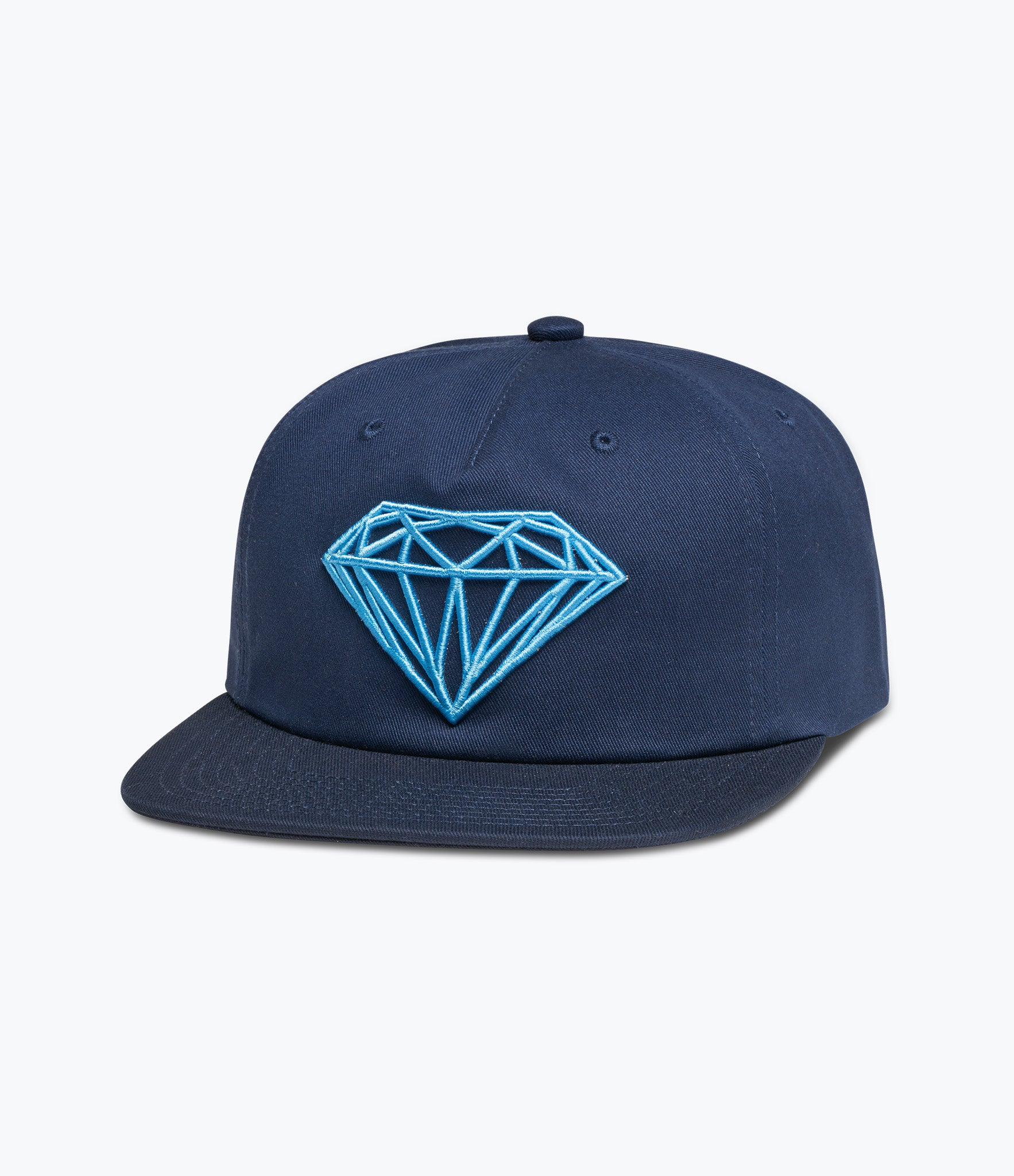 Unconstructed Snapback Cap With Script Logo - Black Diamond Supply Company z7H5MQcw