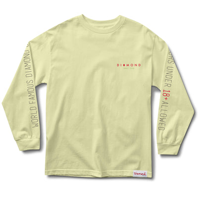Diamond Casino Longsleeve, Spring 2018 Delivery 1 Tee Printable -  Diamond Supply Co.