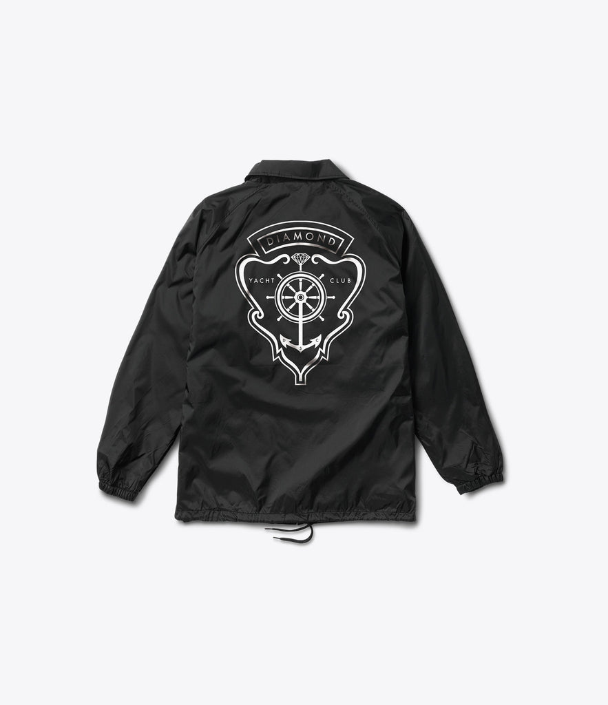 Yacht Crest Coaches Jacket, Summer 2016 Delivery 1 Jackets -  Diamond Supply Co.