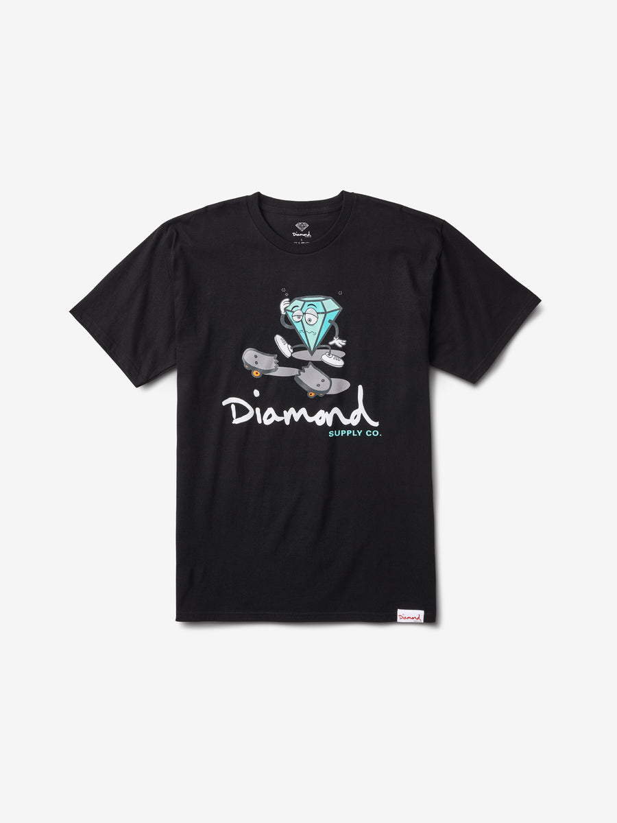 Skate Life Cutty Tee - Black