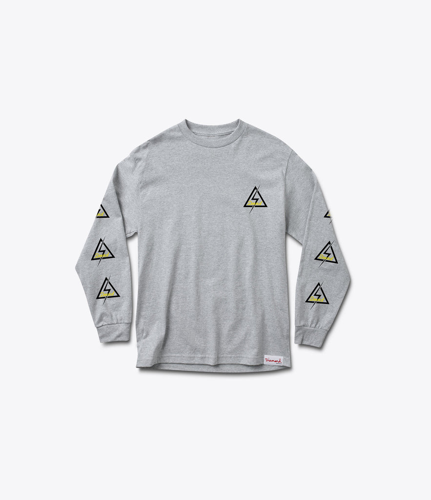 DMND Electric Longsleeve Tee, Holiday 2016 Delivery 1 Tees -  Diamond Supply Co.