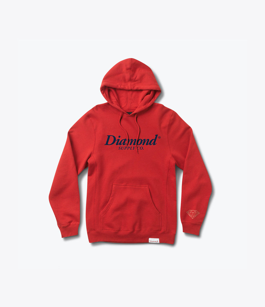 Typeset Pullover Hood, Summer 2016 Delivery 2 Pullover Hoods -  Diamond Supply Co.