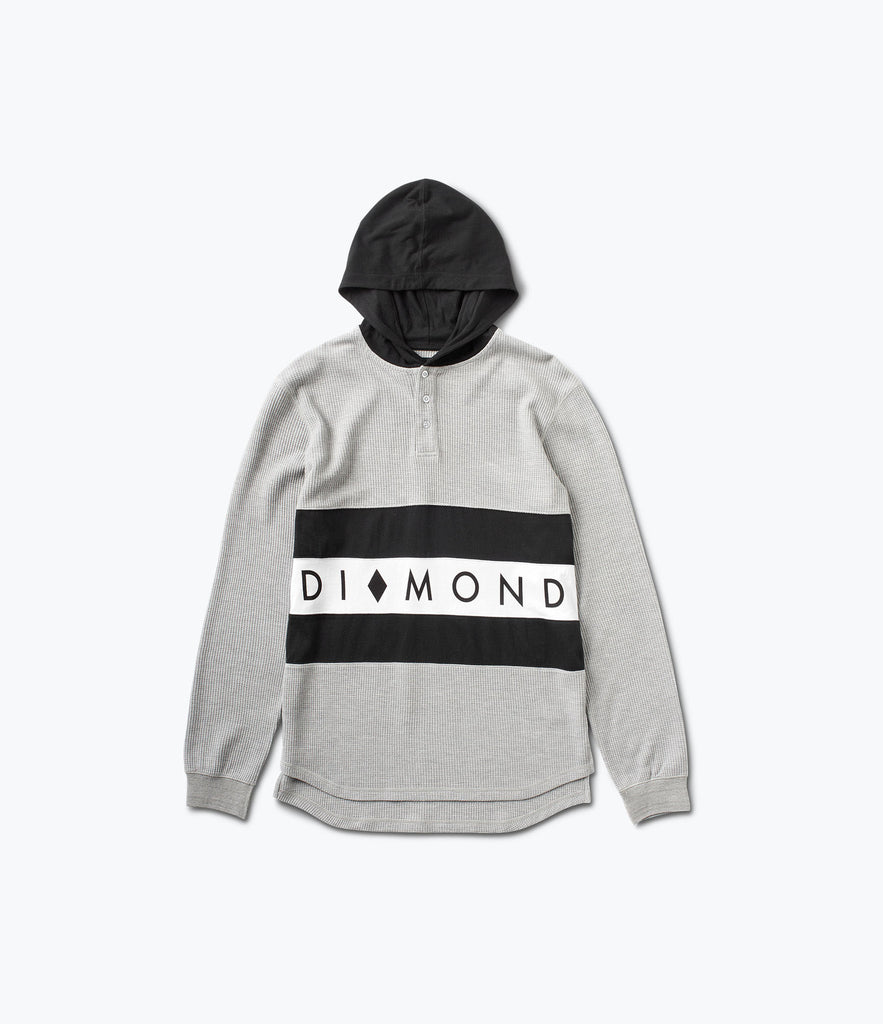 Winston Hooded Thermal, Holiday 2016 Delivery 2 Cut-N-Sew -  Diamond Supply Co.