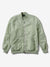 Diamond Panelled Bomber Jacket - Seafoam