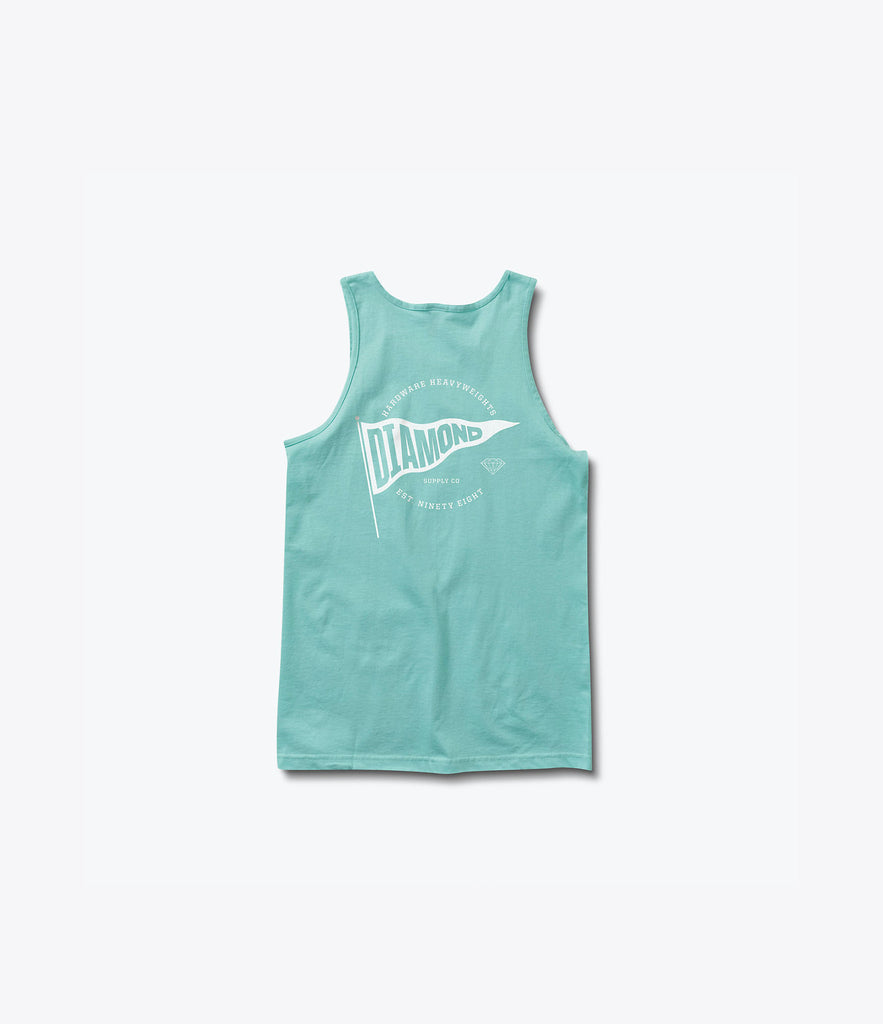 Banner D Tank Top, Summer 2016 Delivery 2 Tank Tops -  Diamond Supply Co.