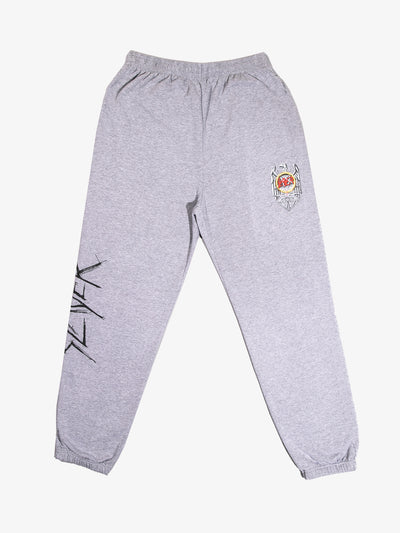 The Hundreds - Diamond x Slayer Brilliant Abyss Sweatpants - Heather Grey
