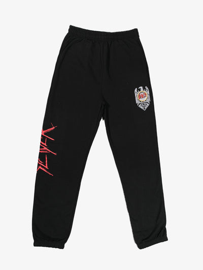 The Hundreds - Diamond x Slayer Brilliant Abyss Sweatpants - Black