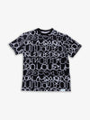 Diamond X Big Sleeps All Over Print Tee - Black
