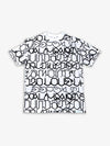 Diamond X Big Sleeps All Over Print Tee - White