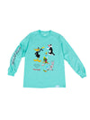 The Hundreds - Diamond x Looney Tunes Looney Tunes Long Sleeve - Diamond Blue