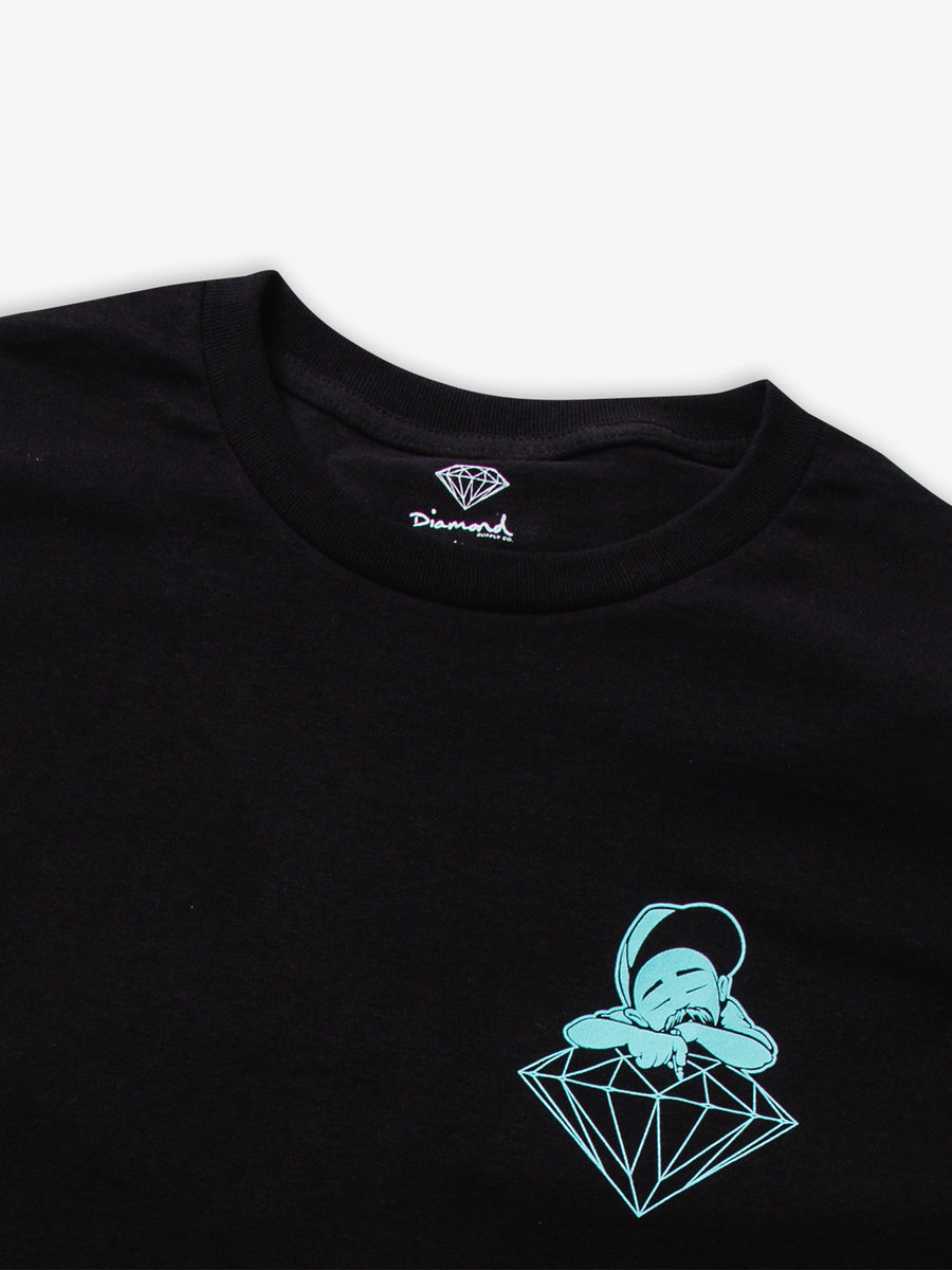 Diamond X Big Sleeps Tee - Black