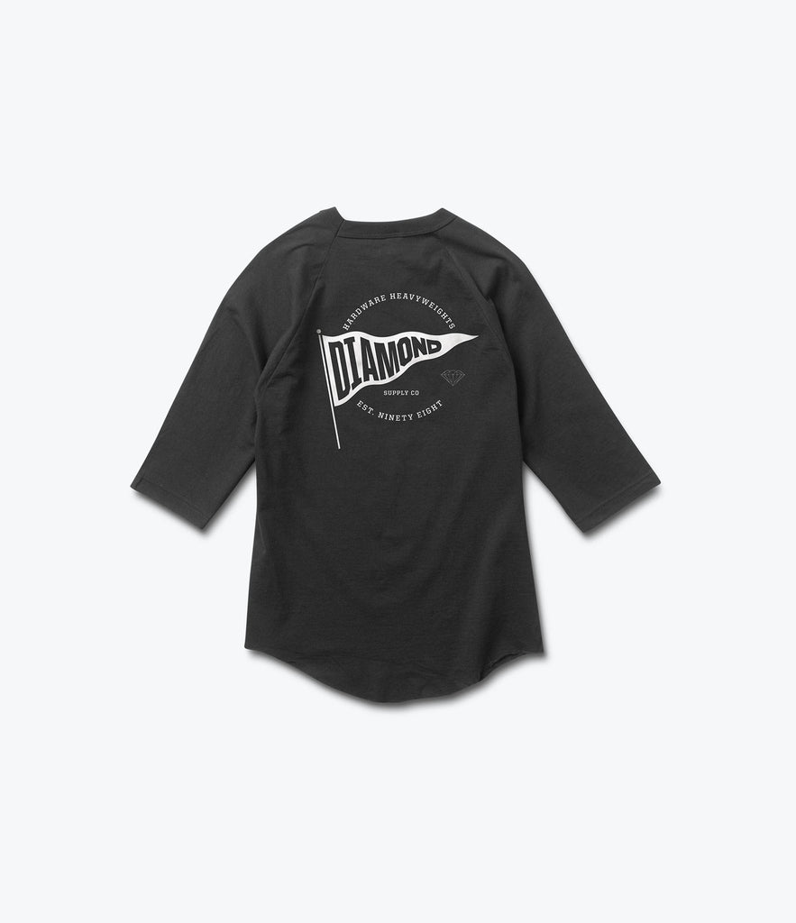 Banner D 3/4 Sleeve Tee, Summer 2016 Delivery 2 Tees -  Diamond Supply Co.