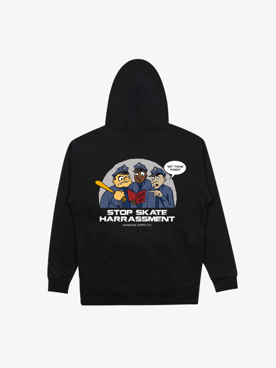 Three Cops Hoodie - Black