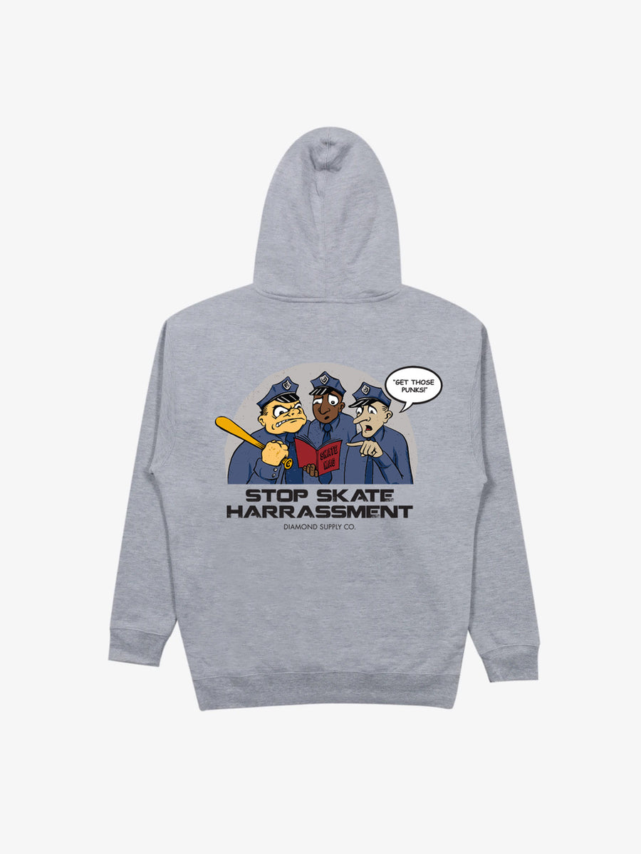 Three Cops Hoodie - Grey
