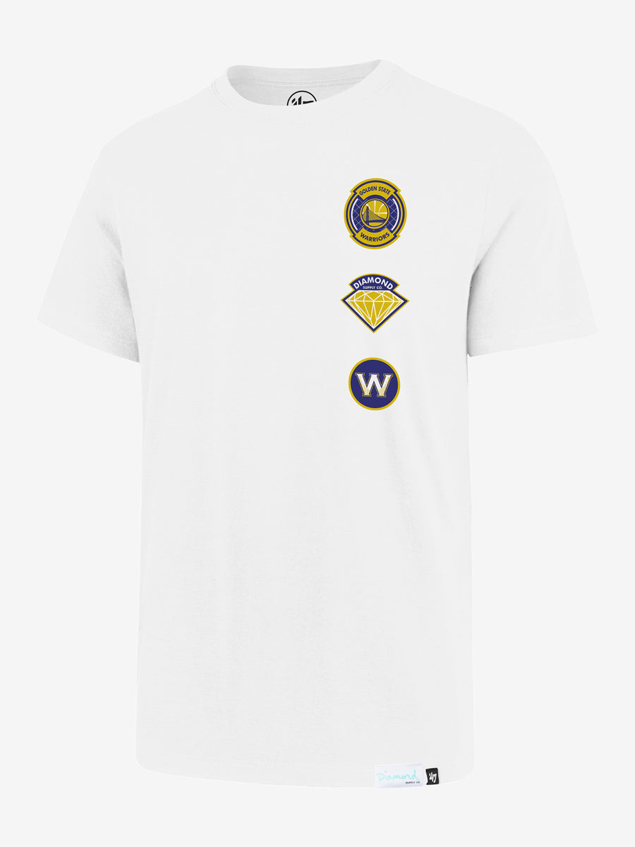 DIAMOND X '47 X NBA Flanker Tee -  Warriors