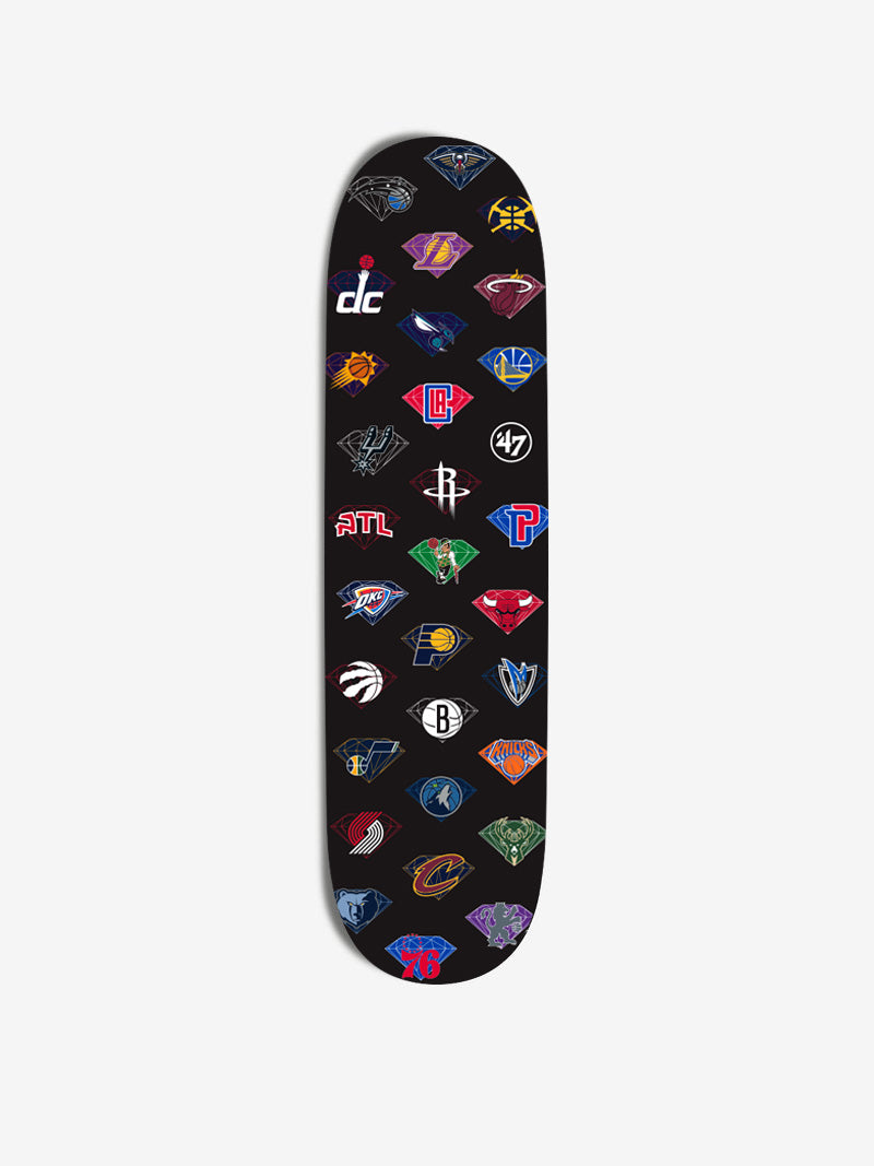 Diamond x '47 x NBA Team Skateboard
