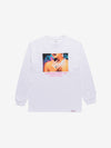Womens Hands Longsleeve - White