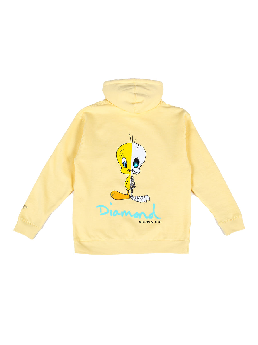 Diamond x Looney Tunes X-Ray Hoodie - Yellow