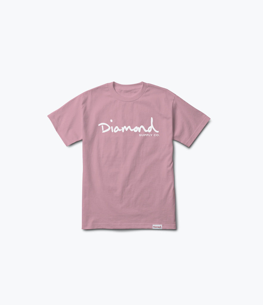 OG Script Tee, Spring 2017 Delivery 1 Tees -  Diamond Supply Co.