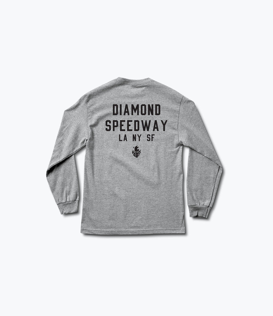 Burnouts Longsleeve Tee, Spring 2017 Delivery 2 Tees -  Diamond Supply Co.