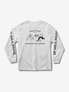 Screw'n Em All Longsleeve - White