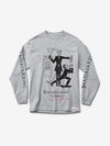 Skate Crime Longsleeve - Grey, Spring 19 -  Diamond Supply Co.