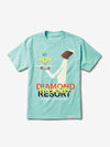 Diamond Resort Tee - Diamond Blue, Spring 19 -  Diamond Supply Co.