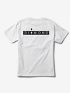 Marquise Tee - White, Spring 19 -  Diamond Supply Co.