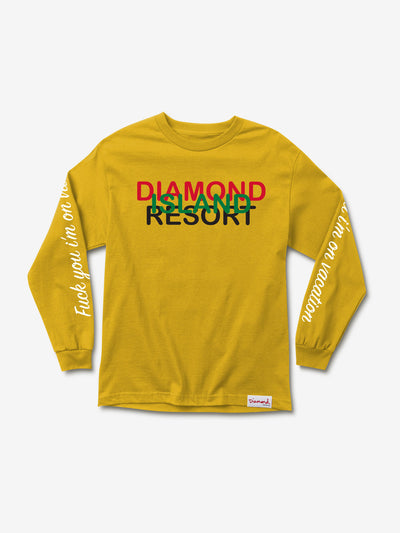 Diamond Resort Longsleeve - Gold