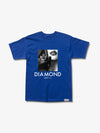 The Hundreds - Black Gloves Tee - Royal Blue