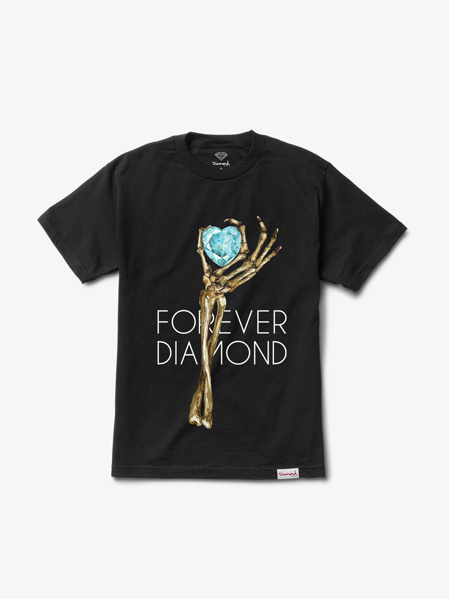 Heart Of Diamond Tee - Black