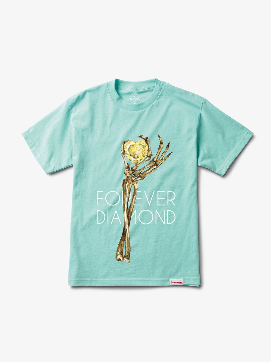 Heart Of Diamond Tee - Diamond Blue