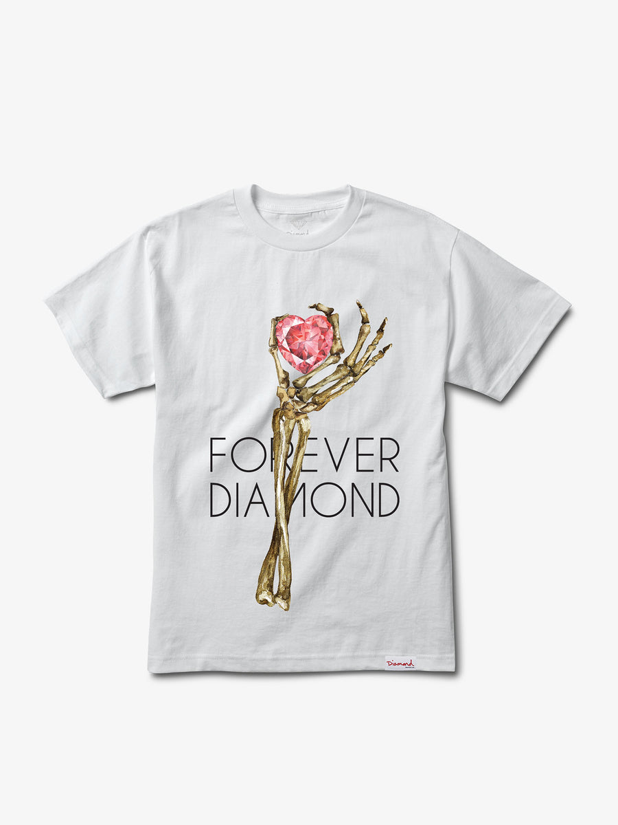 Heart Of Diamond Tee - White