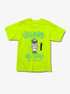 Halston - Nut House Tee - Safety Green