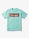 The Hundreds - Color Ply Box Logo Tee - Diamond Blue