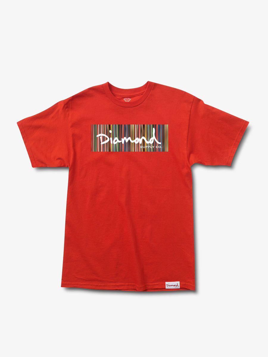 The Hundreds - Color Ply Box Logo Tee - Red