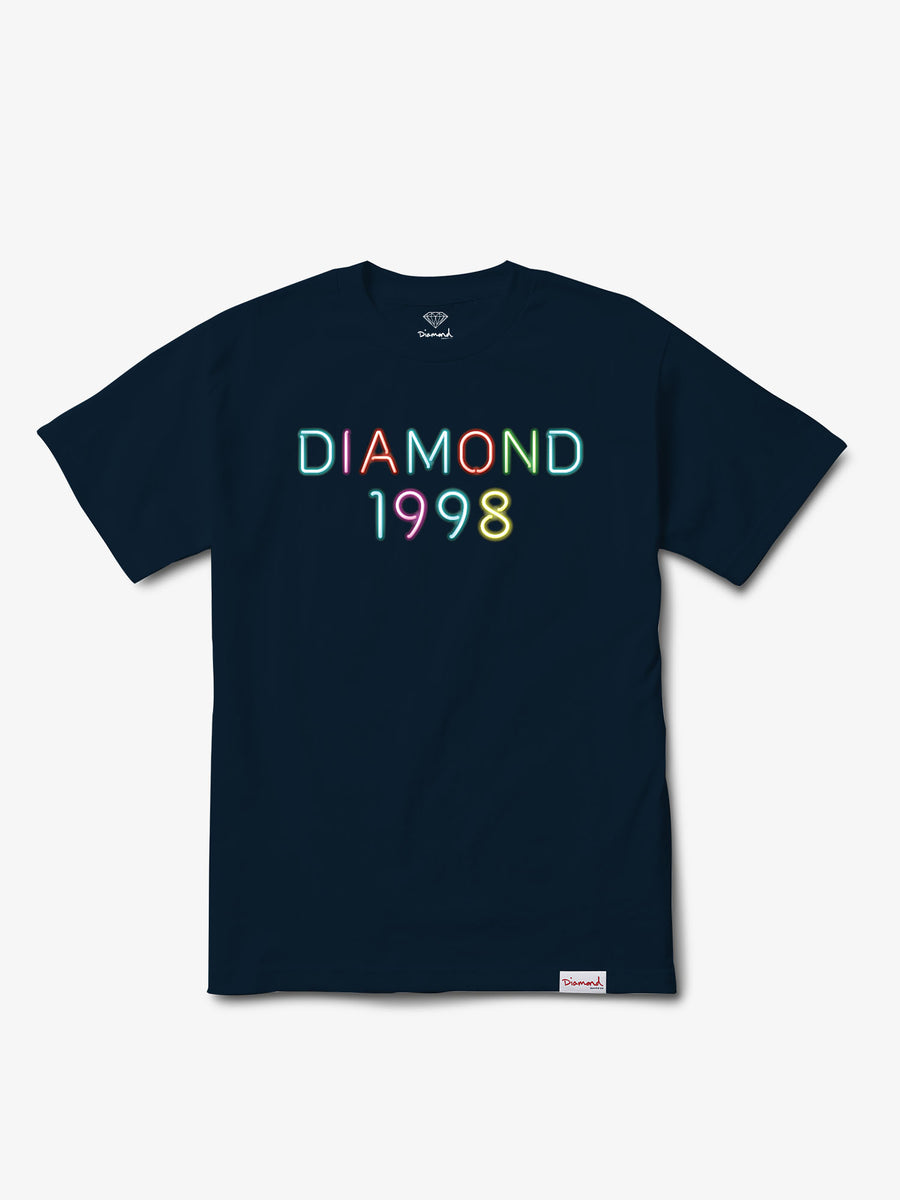 The Hundreds - Radiant Neon Tee - Navy