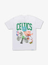 The Hundreds - Diamond x Space Jam Boston Celtics Tee - White