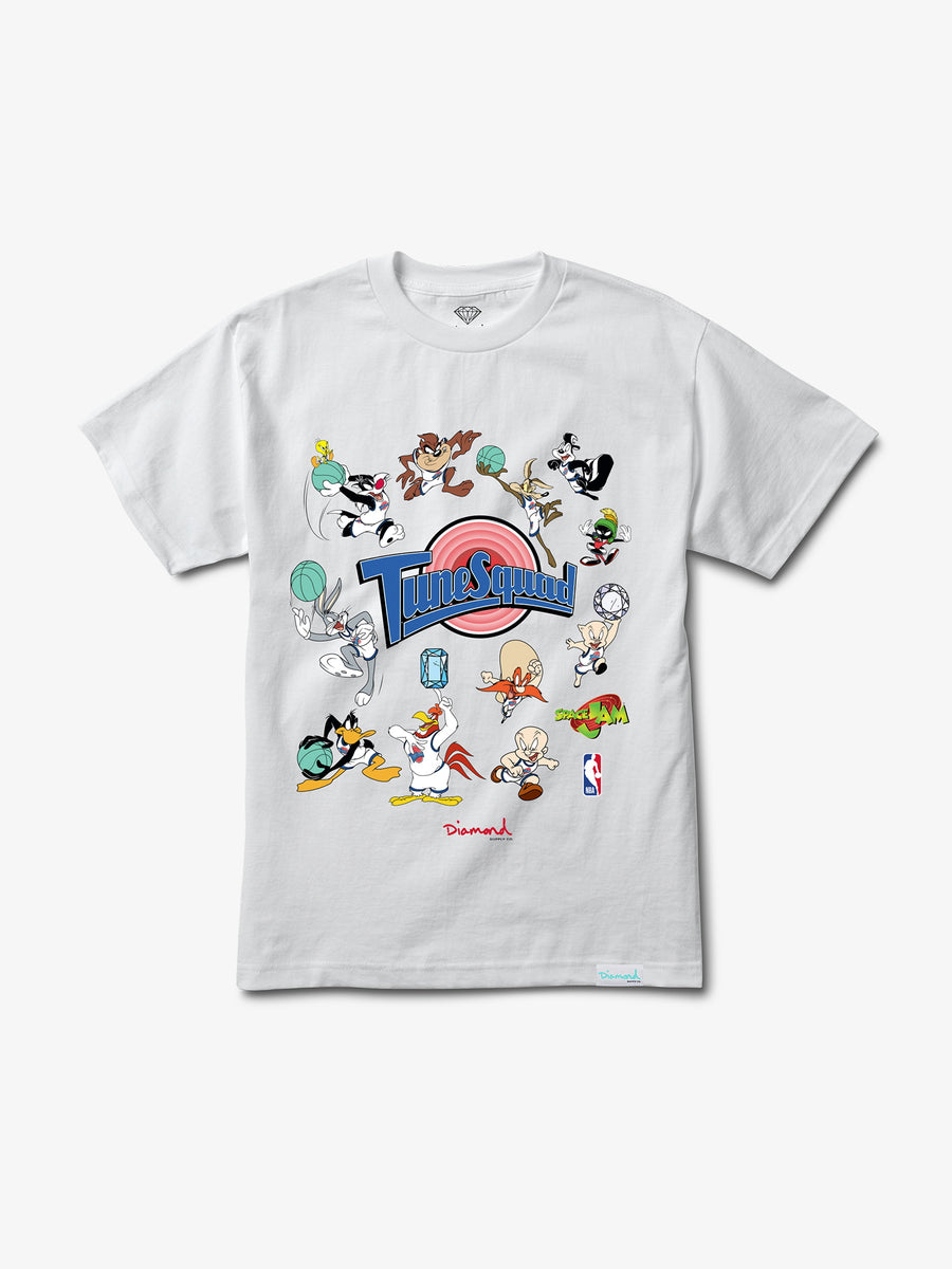 Diamond x Space Jam Tune Squad Tee - White