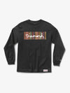 The Hundreds - Color Ply Box Logo Longsleeve - Black