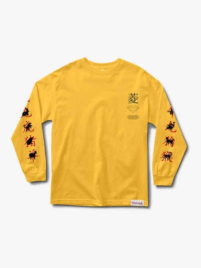 The Hundreds - Chinese Zodiac Longsleeve - Gold