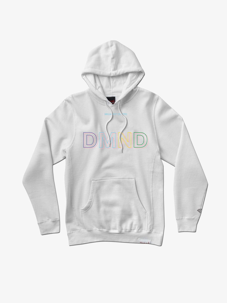 The Hundreds - 3DMND Hoodie - White