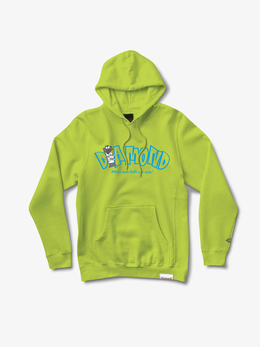 Nut House Hoodie - Safety Green