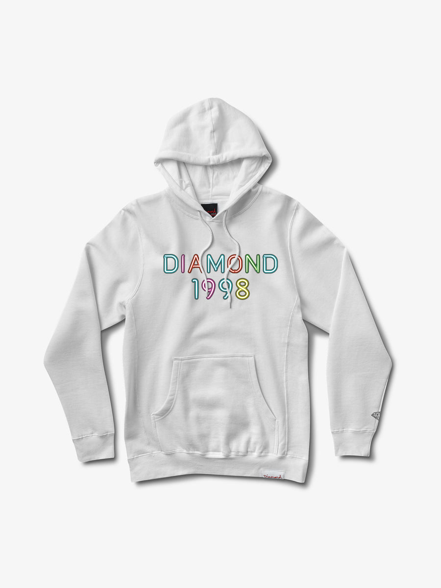 The Hundreds - Radiant Neon Hoodie - White