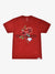 Red Rose Mineral Wash Tee - Red