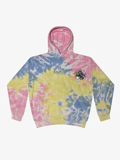 The Hundreds - Clarity Tie Dye Hoodie - Sherbert