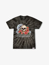 The Hundreds - Skull & Crow Tie Dye Tee - Black