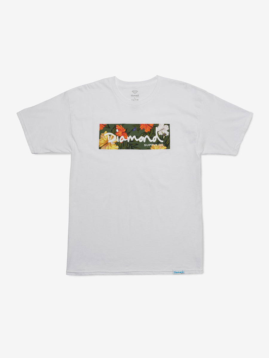 Aloha Pack Box Logo Tee, Summer 2018 Tee Printable -  Diamond Supply Co.